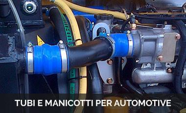 Tubi e manicotti per automotive