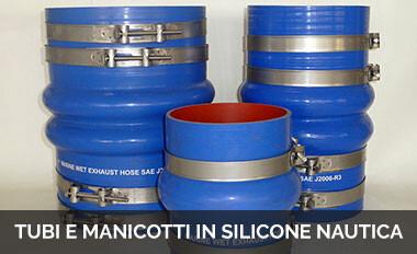 Tubi e manicotti in silicone nautica
