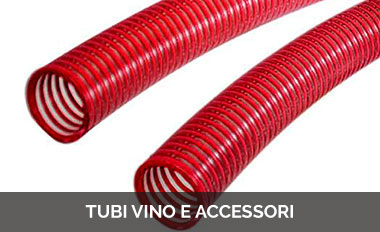Tubi vino e accessori