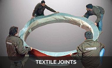 textile joints